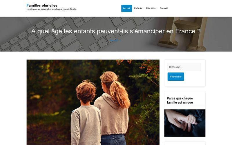 Familles plurielles - Le site pour en savoir plus sur chaque type de famille